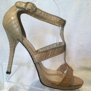 Lauren Ralph Lauren Florie Strappy Heel Sandal 9.5